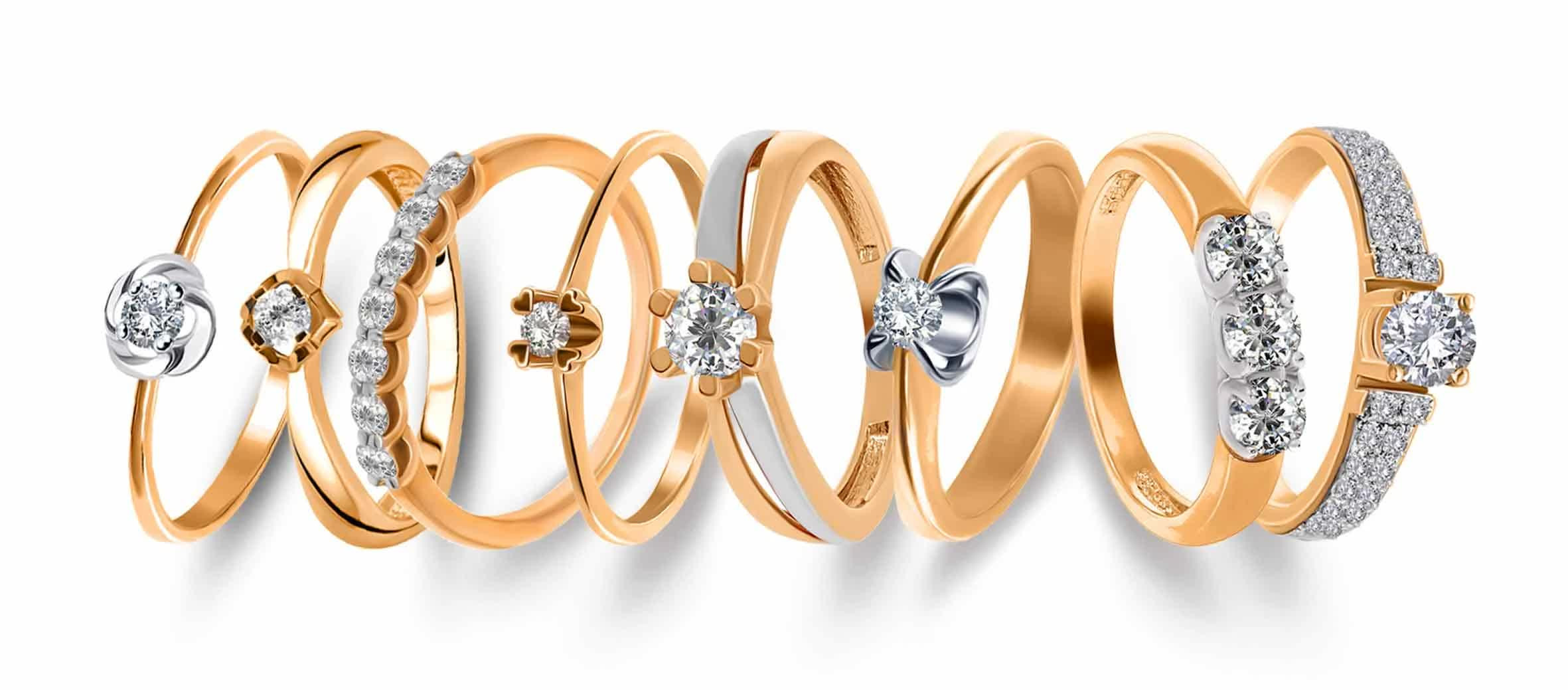 Как выбрать женские золотые кольца из золота