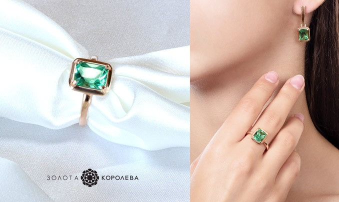 Сочетание интересных цветов в украшениях в 2019, золотые кольца, купить, заказать, серьги золотые, серебряные, интернет-магазин Золотая-Королева